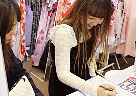 Process(2)Select a Kimono